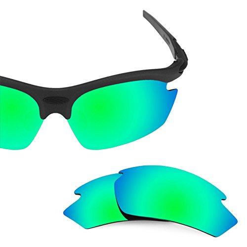 Verres de rechange pour Rudy Project Rydon — Plusieurs options Polarisés Elite Rogue Vert MirrorShield®