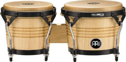 Meinl Percussion LC300NT-M Artist Series Luis Conte Signature Wood Bongos, Natural, 6 3/4-Inch and 8-Inch by Meinl Percussion
