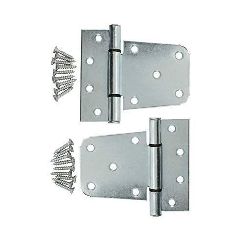 Specialty Hardware Heavy Duty 3-1/2 inch T Hinge Stainless Steel Gate Hinges 20 ()