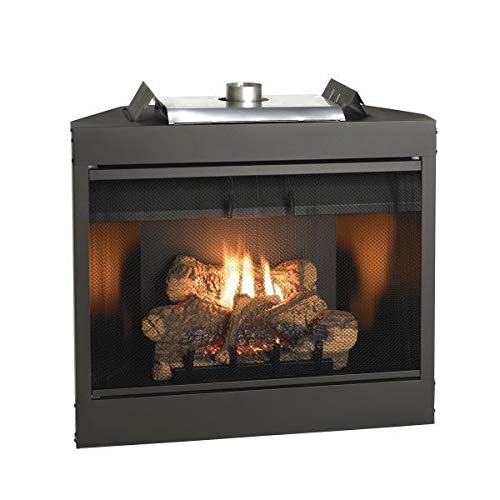 Empire Comfort Systems Deluxe 34 Keystone Series MV Flush Face B-Vent Fireplace - Natural Gas by Empire Comfort Systems
