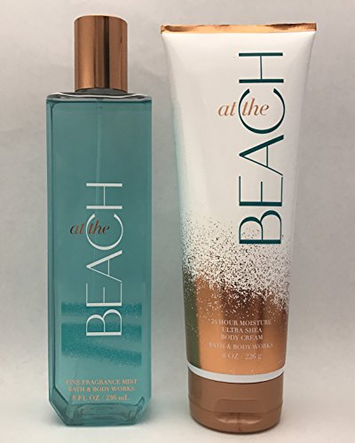Bath Splash Mist (Bath & Body Works At The Beach Body Cream & Fine Fragrance Mist Set 8 oz)