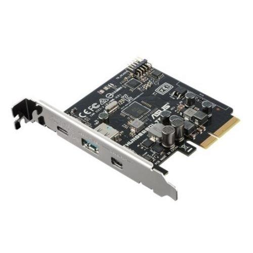 ASUS ThunderboltEX 3 Interno Thunderbolt 3,Thunderbolt  - Tarjeta y adaptador de interfaz - Accesorio (PCI, Thunderbolt 3,Thunderbolt, 40 Gbit/s, 100 mm, 85 mm) Asustek 90MC03V0-M0EAY0