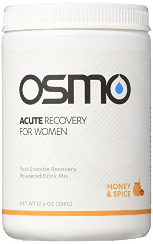 OSMO Nutrition Acute Recovery for Women, Honey and Spice, 12 Serving Canister, 12.6oz by OSMO Nutrition