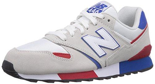 New Balance Nbu446smwb - Zapatillas Hombre Gris Claro / Blanco / Azul