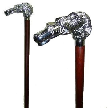 Dog/shoe Cane (Silver)