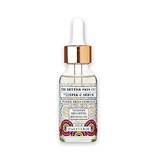 Mirakle Cream Epik C Vitamin C Serum By The Better Skin for Women - 1 Oz Serum, 1 Oz