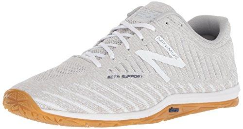 New Balance Men's 20v7 Minimus Women's Cross-Trainer-Shoes, White, 8 2E US