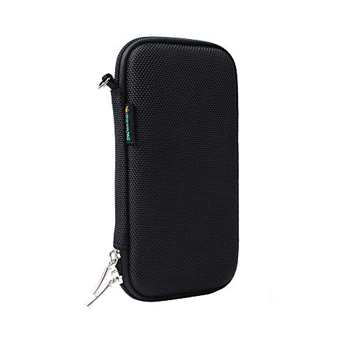 iDream365 Hard Protective EVA Carrying Case/Pouch/Holder for Executive Fountain Pen,Ballpoint Pen,Active Stylus Pen-Black