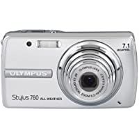 Olympus Stylus 760 7.1MP Digital Camera with Dual Image Stabilized 3x Optical Zoom (Silver)