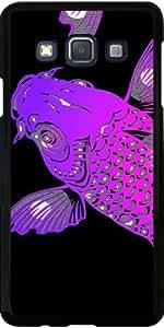 Funda para Samsung Galaxy A3 (SM-A300) - Koi Púrpura Asiático by WonderfulDreamPicture