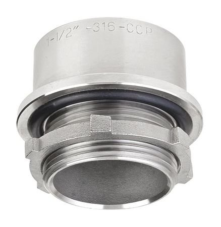 Hub Threaded 3/4 Inch 1-7/8 Inchl 316 Ss