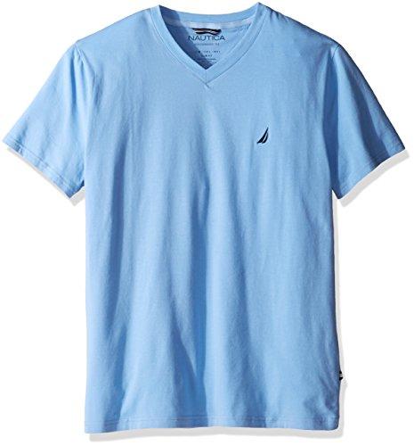 Nautica Mens Slim V Neck T Shirt