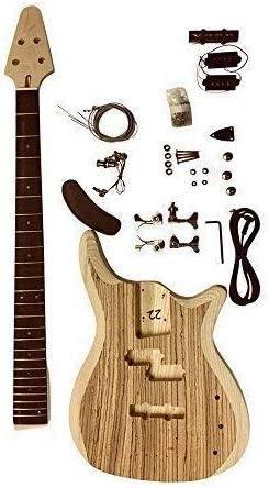 GD905Z bajo 4 Cuerdas Guitarra Kit Fresno Madera Cuerpo con ...