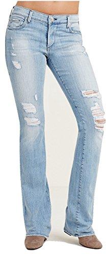 True Religion Women's Becca Bootcut Midrise Jeans In Nu Drifter (23, Nu (Womens True Boot Jean)