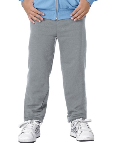 Hanes Youth ComfortBlend EcoSmart Sweatpants, Light Steel, Medium