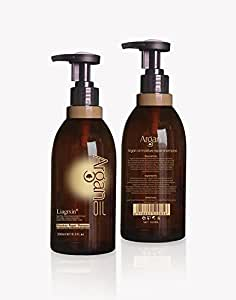 Moroccan Argan Oil Shampoo For Men & Women, 16 Fl Oz, Cruelty-Free & Sulfate Free, Best Selling Natural Oils Promotes Hair Revitalization, Restoration and Volume
