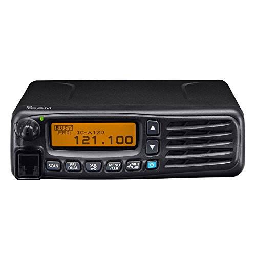 Radio Noise Aircraft (ICOM IC-A120 VHF Airband Transceiver New Version of Icom IC-A110)