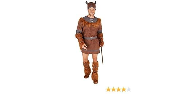 TecTake dressforfun Disfraz para Hombre Vikingo | Incl. Sombrero + ...