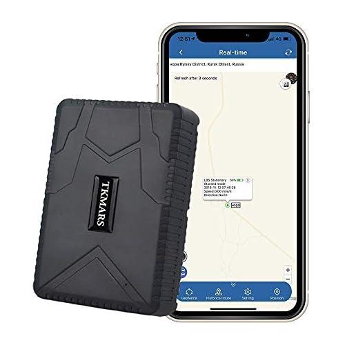 chollos oferta descuentos barato Hangang Rastreador GPS Magnético 120 días GPS Tracker en Espera Localizador GPS a Prueba de Agua Dispositivo de Seguimiento en Tiempo Real Vehículo Automóvil con Camión para Auto GPS