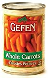 Gefen Whole Carrots Kosher For Passover 14.5 Oz. Pack Of 3.