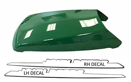 Kumar Bros USA New Upper Hood With LH & RH Decal Set Fits John Deere LT133 LT155 LT166 LTR155 (John Deere Upper Hood)