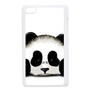 Custom Beautiful Cute Panda Unique Style Apple Ipod Touch 4 Hard Protective Case Cover phone Cases
