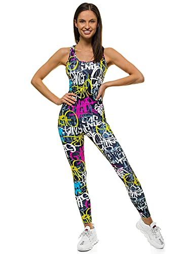 OZONEE O/22121 Tanktop en leggings, joggingpak, trainingspak, sportlegging, sportpak, vrijetijdspak, sportpak, huispak…