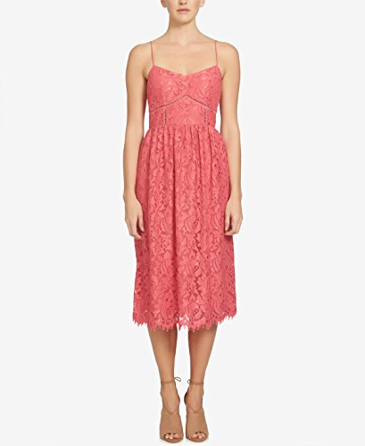 CeCe Women's Aurora - Sleeveless Floral Lace Terra Rose - In Outlet Aurora