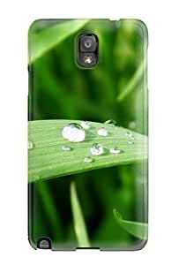 BayyKck Case Cover Protector Specially Made For Galaxy Note 3 Fresh Blade Of Grass