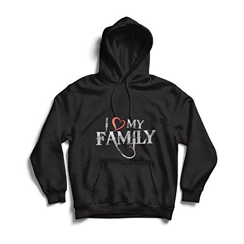 Sudadera con Capucha Camisas de diseñador únicas Muestran tu Amor: increíbles Conjuntos a Juego con la Familia (X-Large...