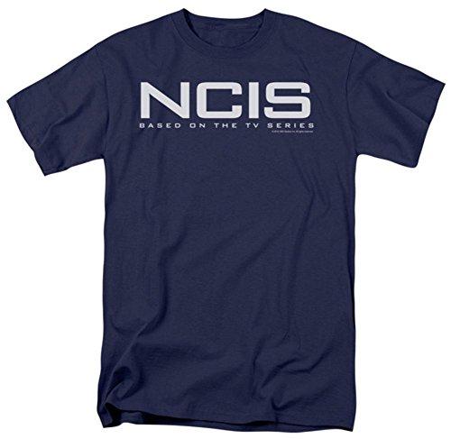 T Shirt   Ncis Logo Blue Small