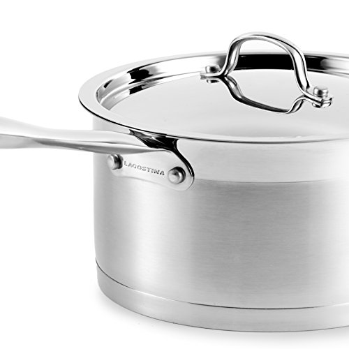 Lagostina 12pc Stainless Steel Cookware Set