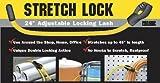 Pro Grip 689700/689725 24'' Yellow Stretch Lock Bungee Cord