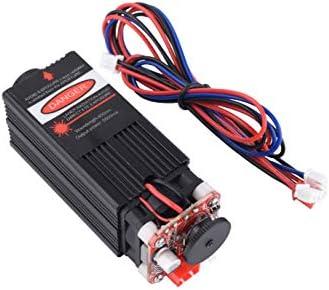 [해외]0.5W1W2.5W5.5W7W10W15W 450nm 블루 레이저 모듈 목재 조각 PWM TTL 제어 레이저 다이오드 전원 조절 가능한 3D 프린터 CNC DIY 조각기에 포커스 가능 / Mostics 5.5W 450nm blue laser module wood engraving PWM TTL control laser diode power ad...