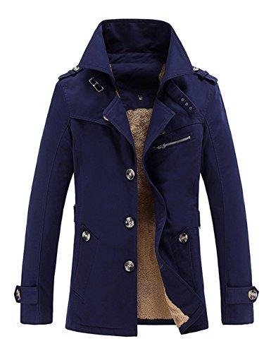Chauds Doublure Hommes D'hiver En Pour Laine Vestes Avec Vêtements xRq0ApR1w