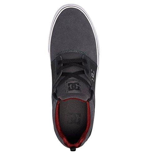 DC Shoes Sneaker Uomo, Grigio (Grigio), EU 41