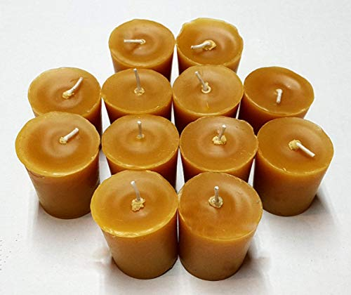 - Beeswax Bayberry Aromatherapy Votive Candles - 12 Pack)
