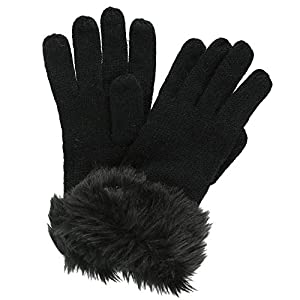 Regatta Women's Luz' Faur Fur Trim Gloves