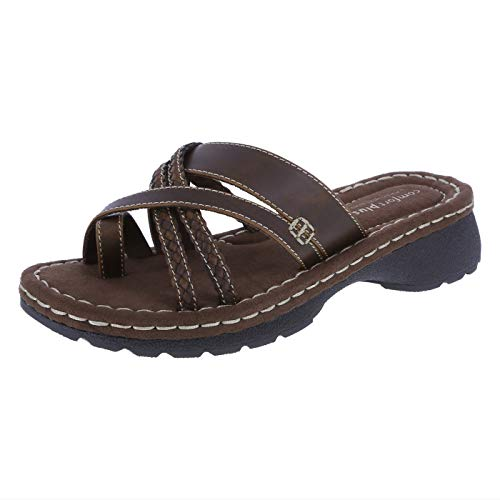 Predictions Comfort Plus Womens Spruce Low Wedge