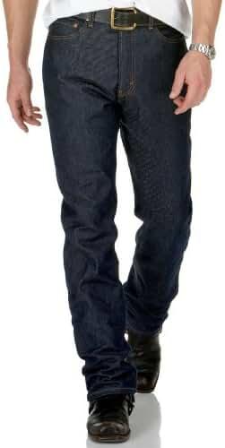 Levi's Mens Men's 505 Regular Rigid Jeans