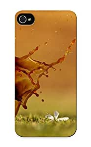 Iphone 5/5s Case - Tpu Case Protective For Iphone 5/5s- Spilled Coffee Case For Thanksgiving's Gift