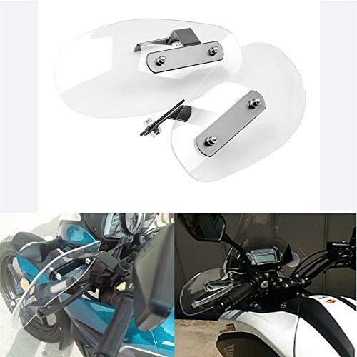 FidgetFidget Handlebar Clear Motorcycle Handguard Wind Protector Protection Universal-UBuy