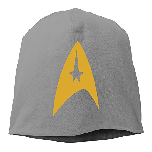 YUVIA Star Trek Men's&Women's Patch Beanie MountaineeringDeepHeather Caps Hats For Autumn And Winter