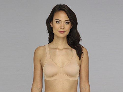 Stretch Cup Bra (Anita Rosa Faia Twin Seamless Comfort Wire-Free Bra, 36D, Skin)