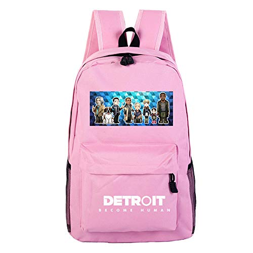 Unisexe Hommes Humain O Devenir École Bandoulière À Ordinateur Jeu Portable Detroit Sjymkyc Impression Dos Sac Étudiant HTz5w