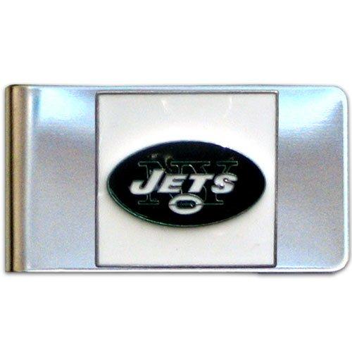 NFL New York Jets Steel Money Clip