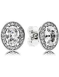 Pandora Women Silver Stud Earrings - 297275EN160