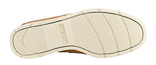 Sperry Mens, Leeward Boat Shoe Tan Blue 8 M
