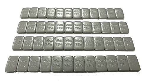 VTR 1/4oz Grey Lead Free Adhesive Backed Wheel Weights (48pcs)