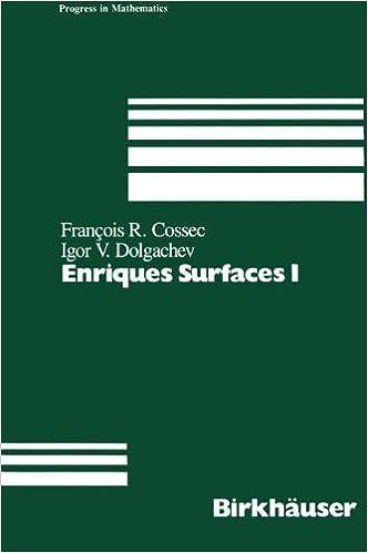 Enriques Surfaces (Progress in Mathematics)